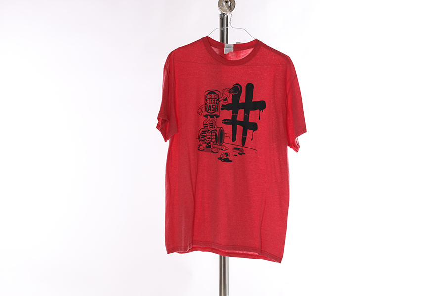 Red Corned Beef Hashtag T-Shirt Image
