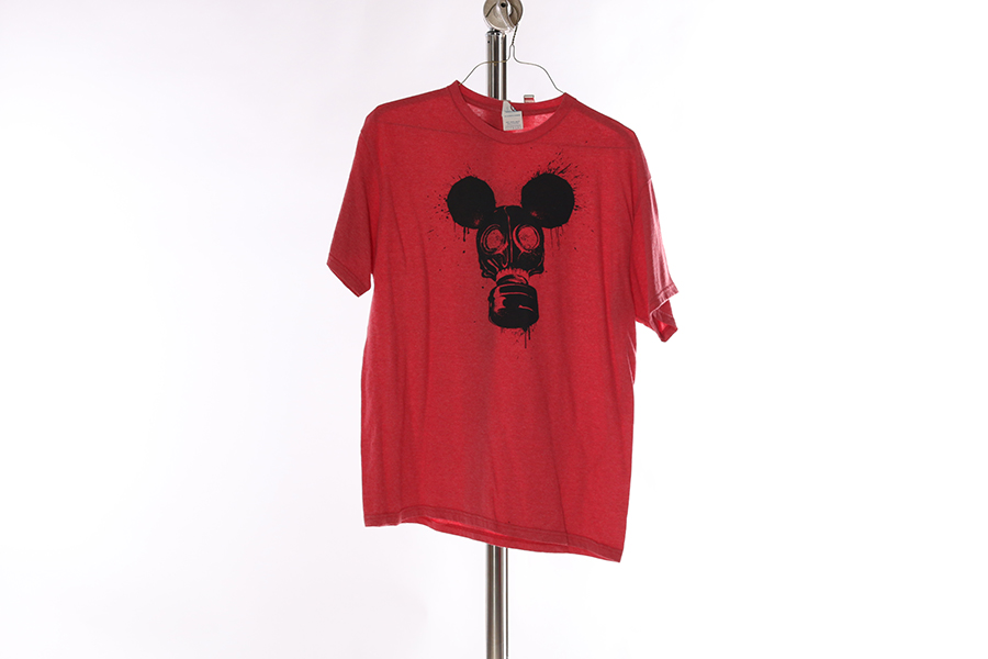 Red Mouse-Mask T-Shirt Image