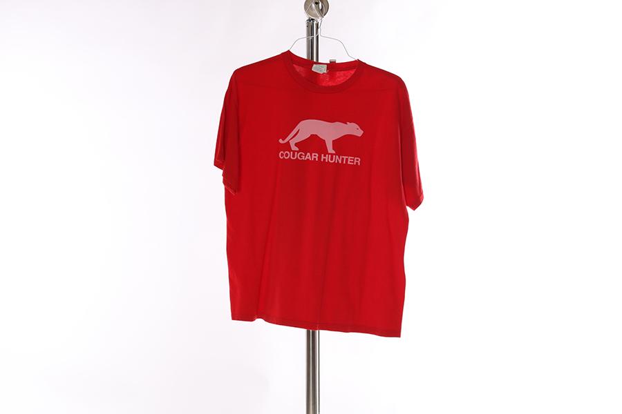 Red Cougar Hunter T-Shirt Image