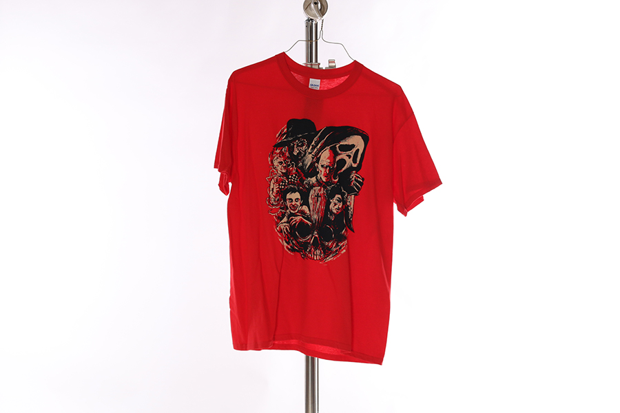 Red Horror T-Shirt Image