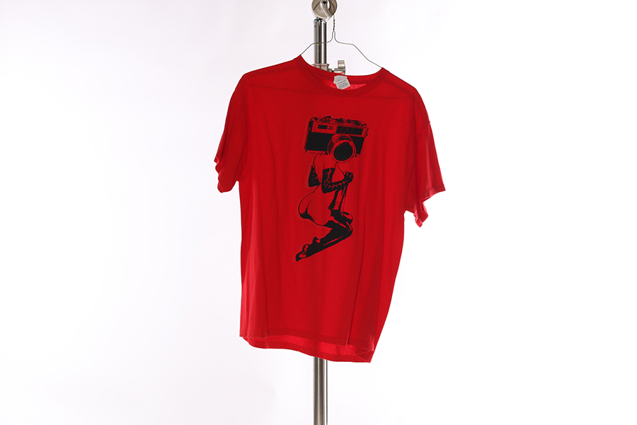 Red Sexy Camera T-Shirt Image