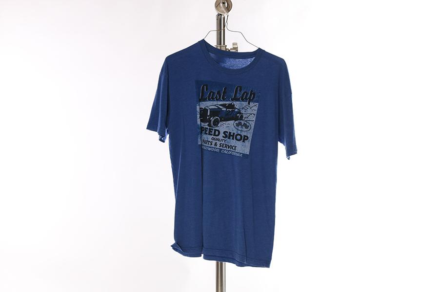 Blue Last Lap T-Shirt Image