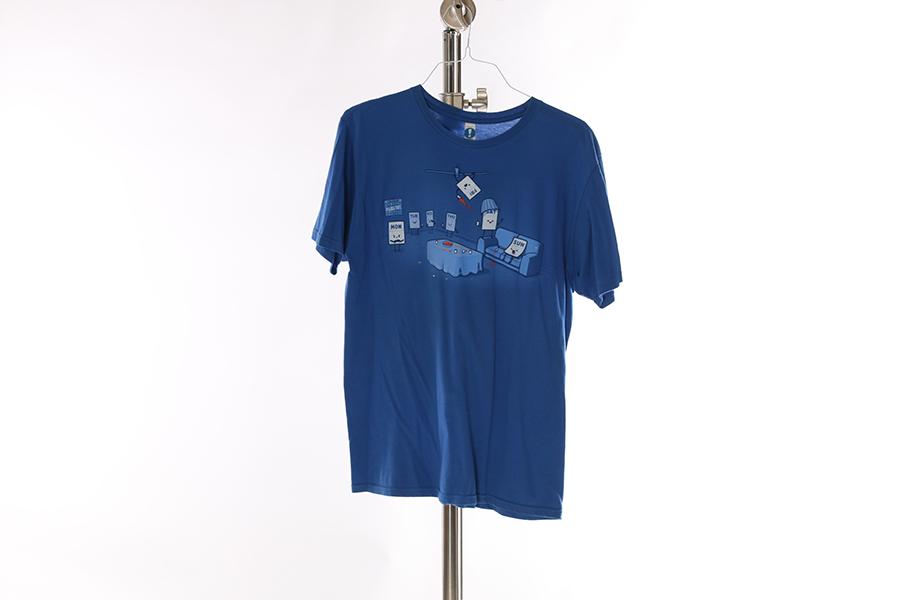 Blue Weekdays T-Shirt Image