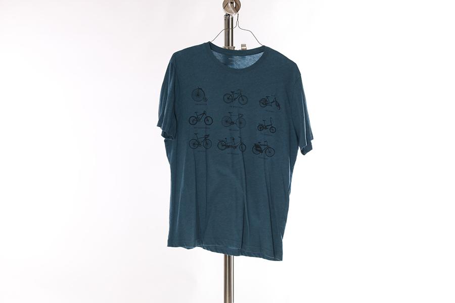 Blue Bicycle Banana Republic T-Shirt Image
