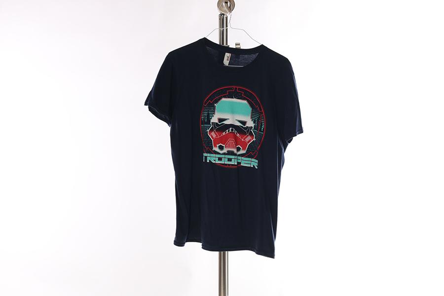 Blue Tron Trooper T-Shirt (1) Image