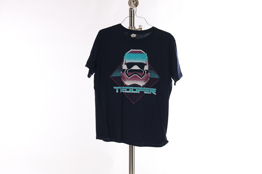 Blue Tron Trooper T-Shirt (2) Image