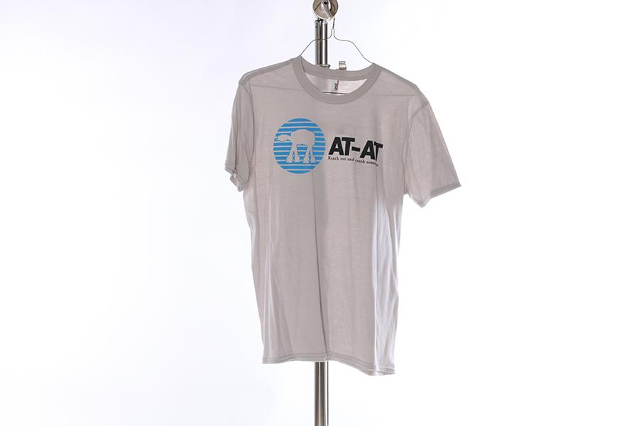 Light Gray At-At Star Wars T-Shirt Image