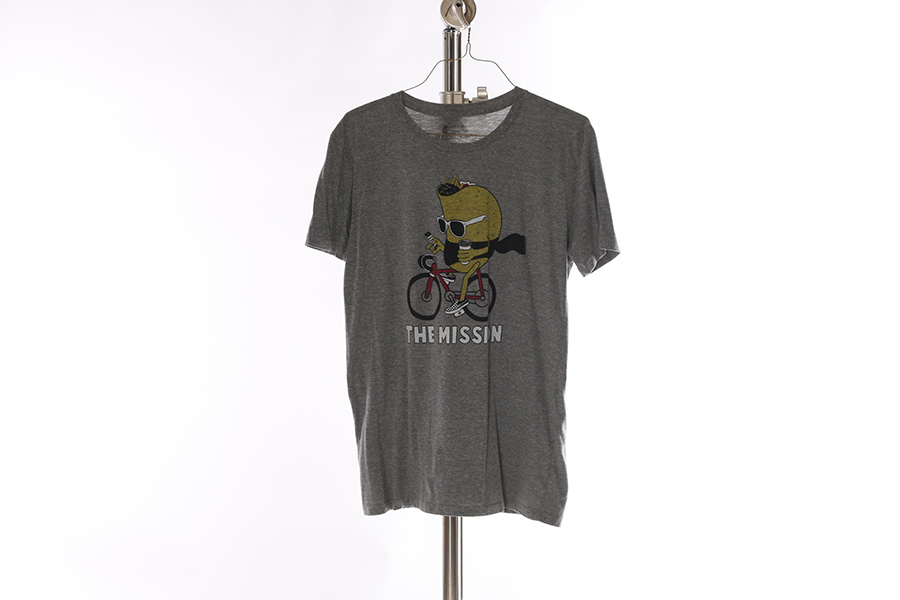 Heather Gray Taco Mission T-Shirt Image