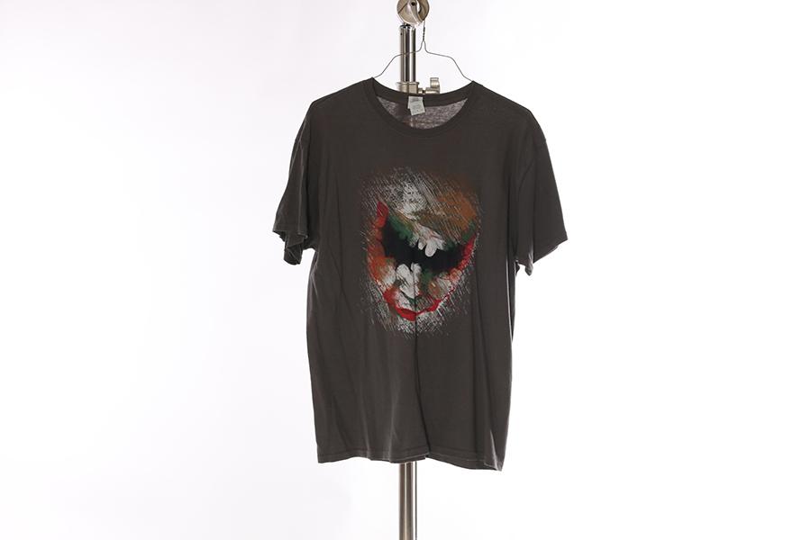 Gray Joker Bat T-Shirt Image