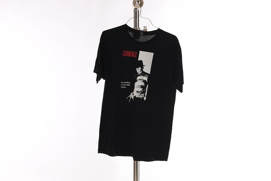 Black Charface T-Shirt Image