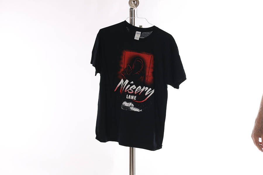 Black Misery Lane T-Shirt Image