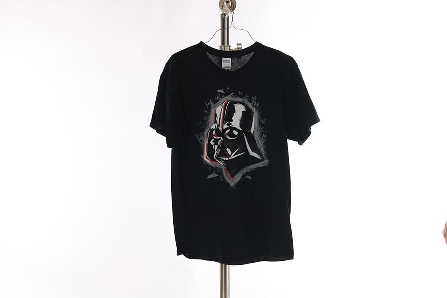 Black Darth Vader T-Shirt Image