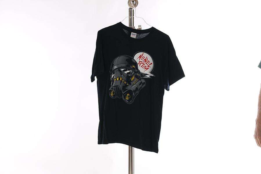 Black Rebel Scum T-Shirt Image