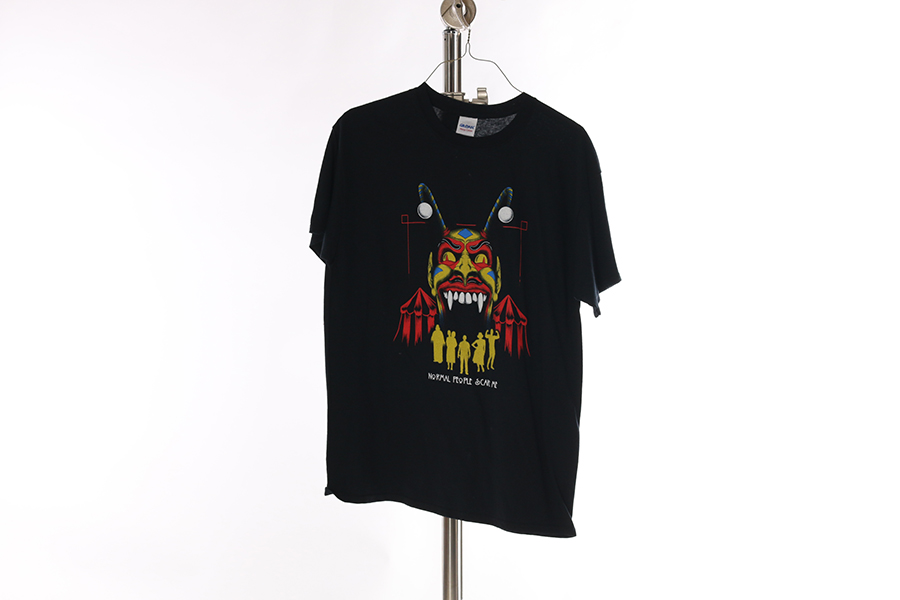 Black Normal People Scare Me T-Shirt Image