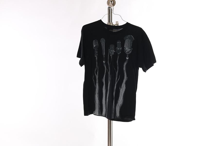 Black Mic T-Shirt Image