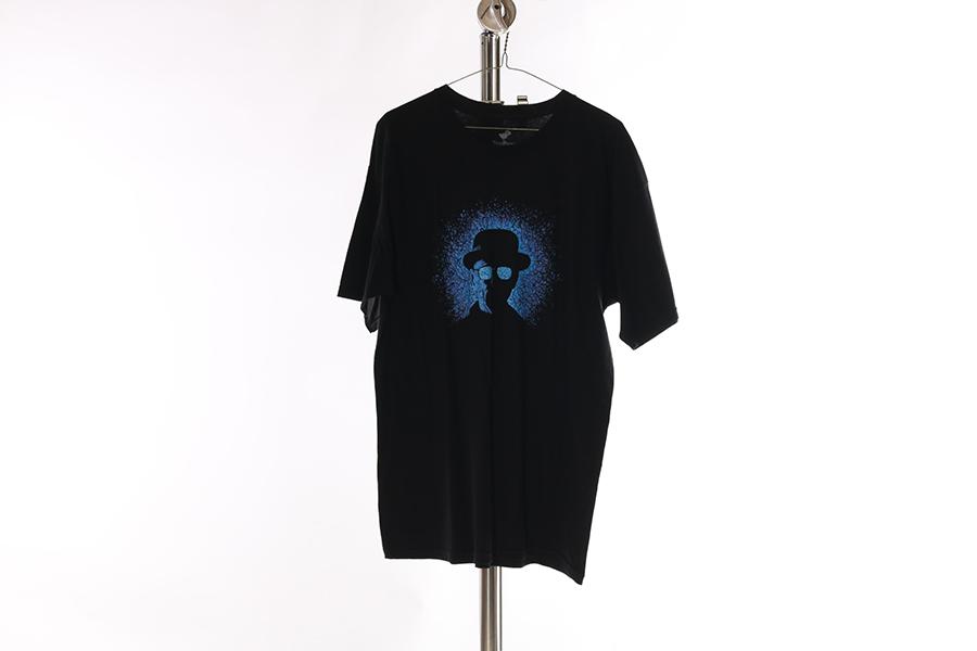 Black Breaking Bad T-Shirt Image
