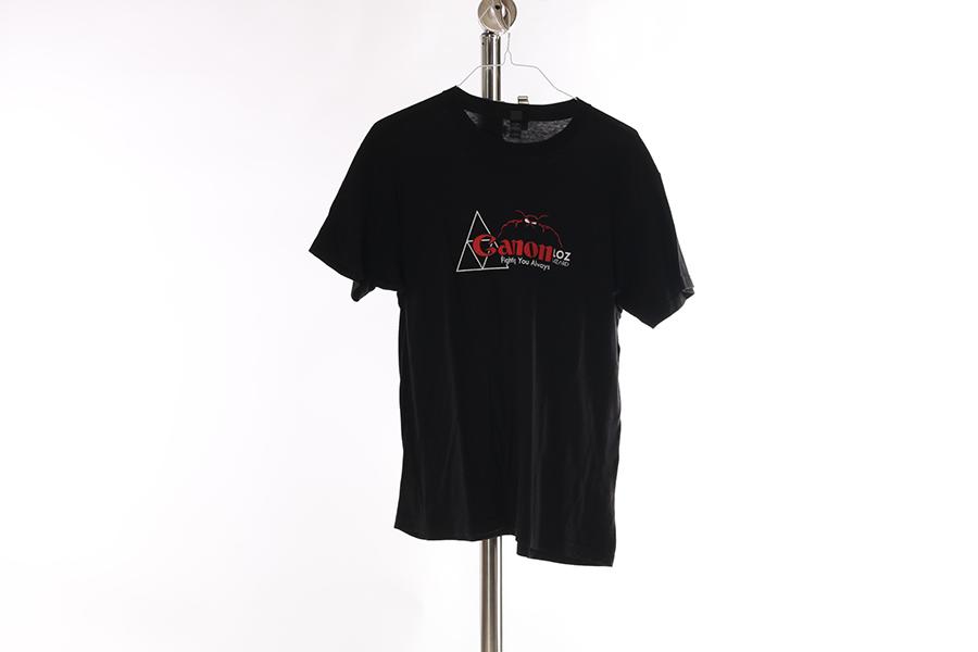 Black Canon Triforce T-Shirt Image