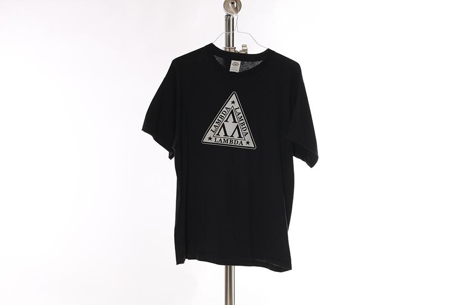 Black Lambda Lambda Lambda T-Shirt Image