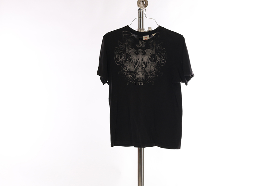 Black Graphic T-Shirt Image