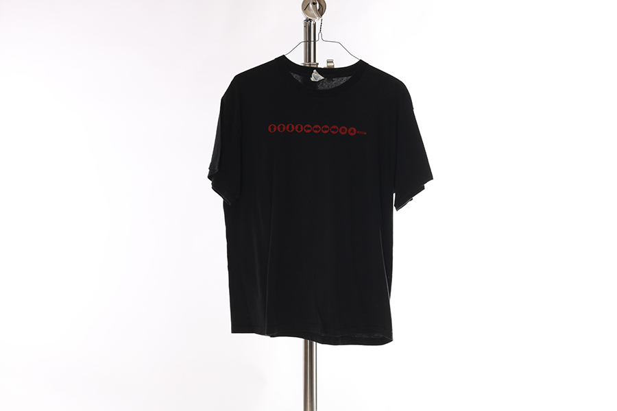 Black Up Up Down Down T-Shirt Image
