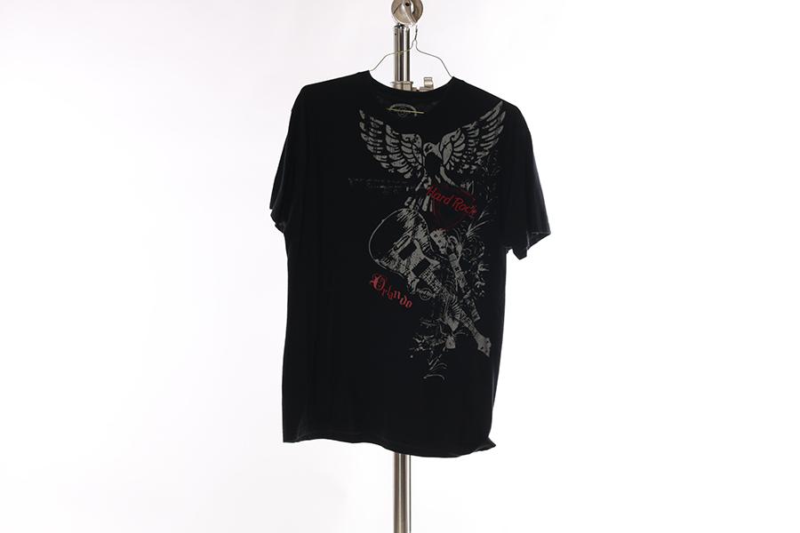 Black Hard Rock T-Shirt Image
