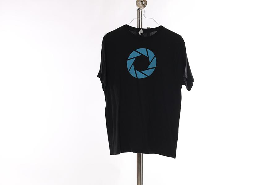 Black Aperture T-Shirt Image