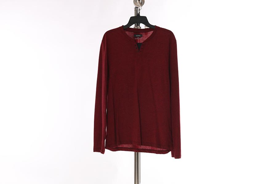Red Alfani Long Sleeve Shirt Image