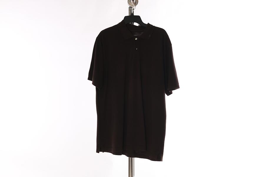 Brown Merona Polo Style Shirt Image