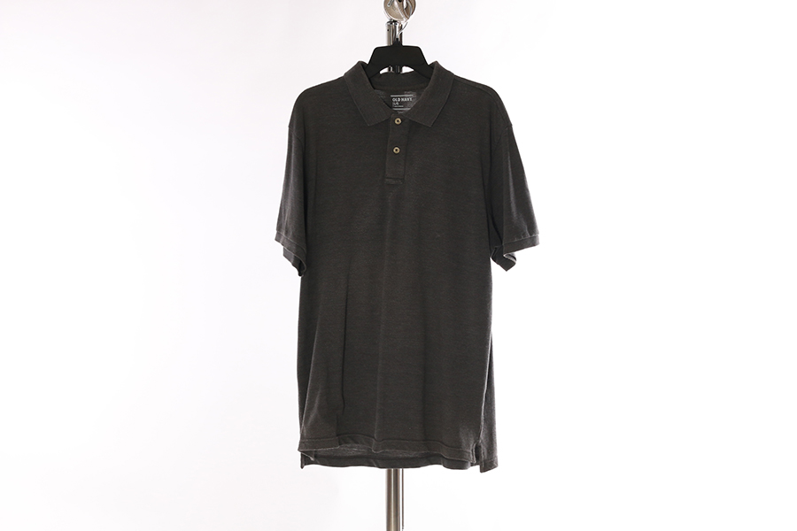 Gray Old Navy Polo Style Shirt Image