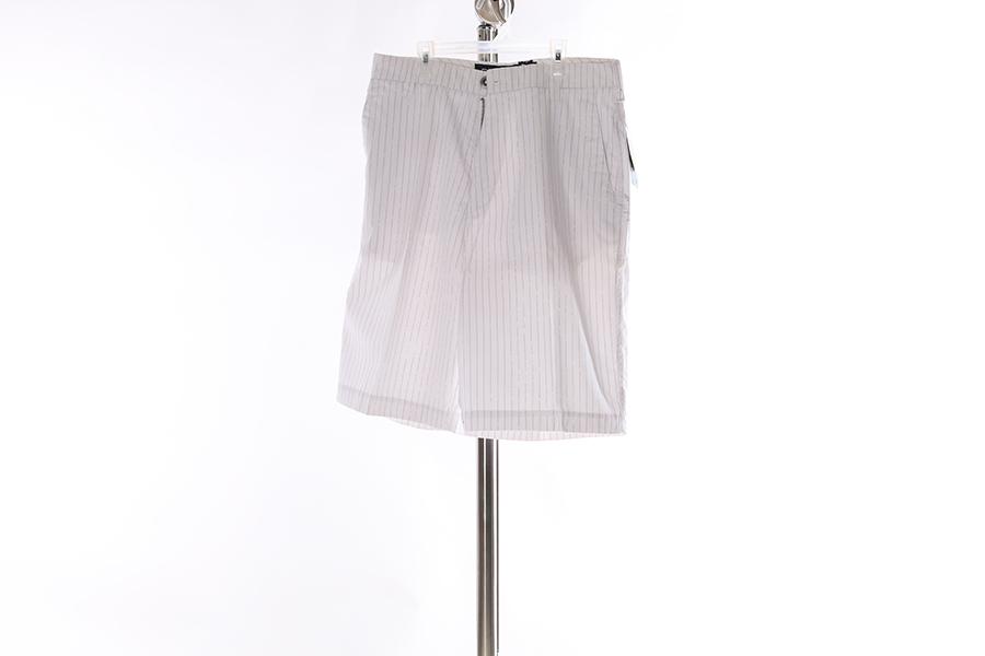 White Striped Billabong Shorts Image