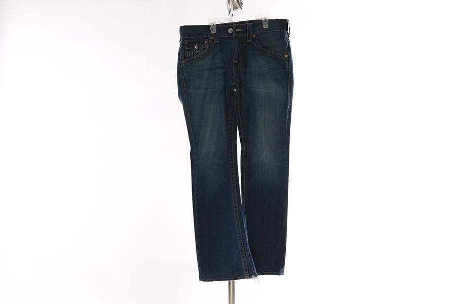 True Religion Blue Jeans Image