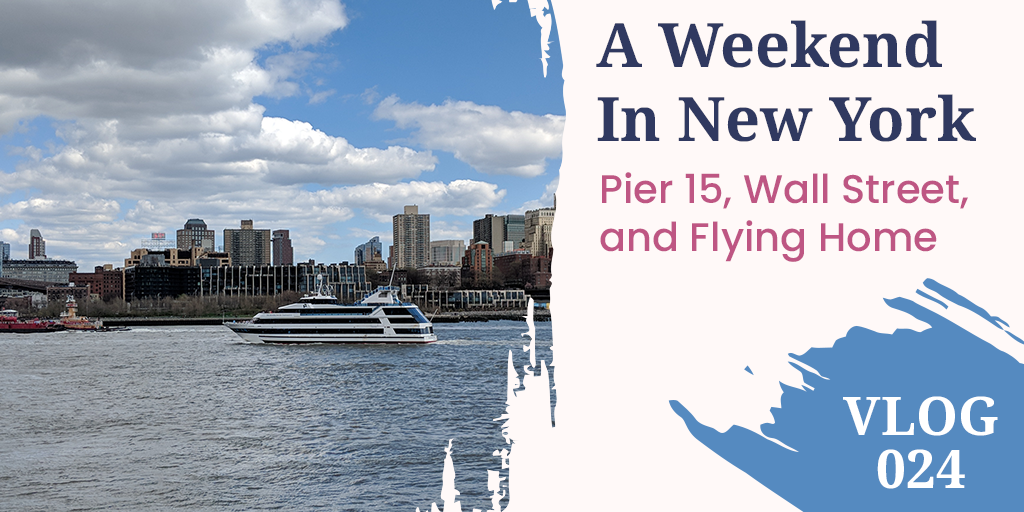 Pier 15 and Wall Street