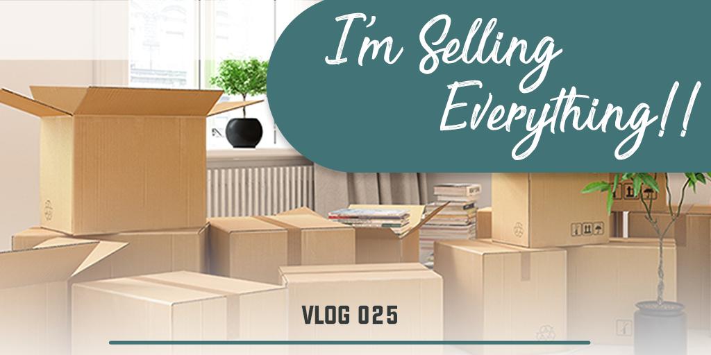 I'm selling everything!